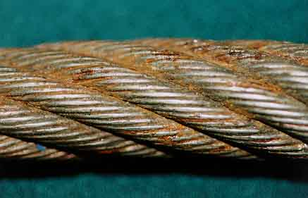 WIRE ROPE FAILURE ANALYSIS