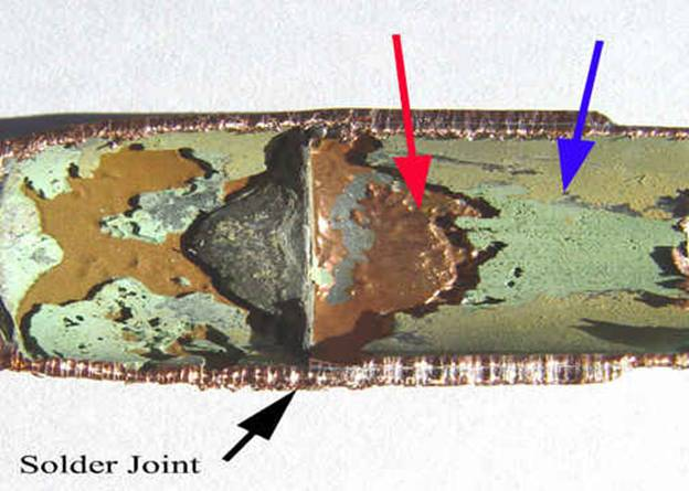 Water Pipe Leakage From Erosion Corrosion