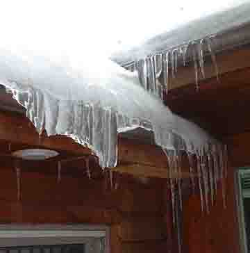 Ice Related Damage To Buildings