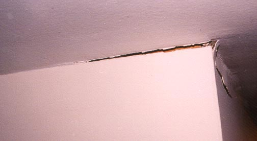 Wallboard Cracks From Truss Uplift